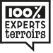 Logo marque 100% experts terroirs